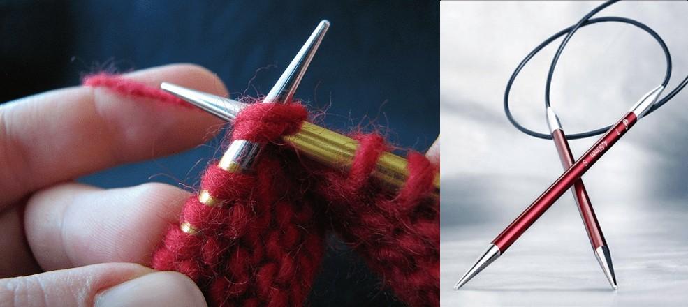 signature needles close up