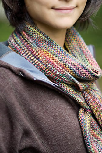 linen stitch scarf koigu