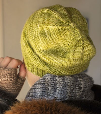 Basic Slouchy Hat for Magic Loop
