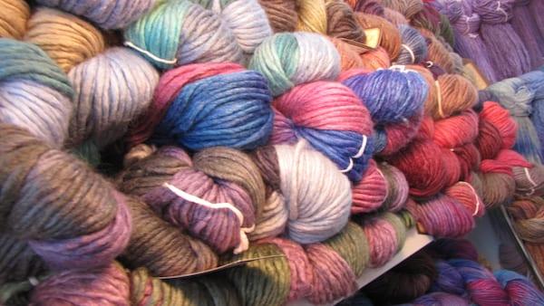 Bulky silk-wool from Araucanía Yarns, Santiago, Chile