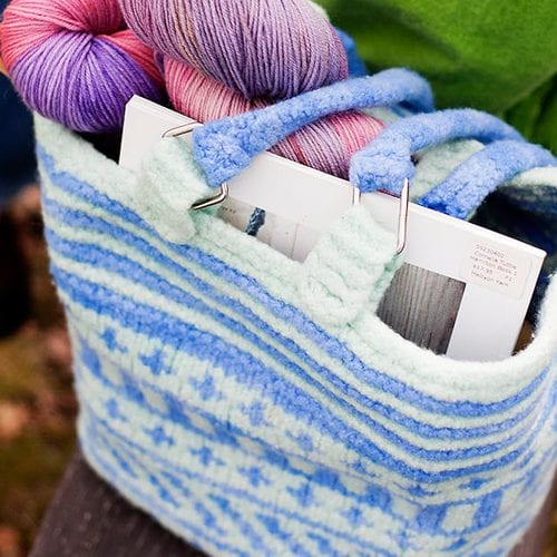 Bag - Felted Fair-Isle for Beginners - Bulky Weight ...