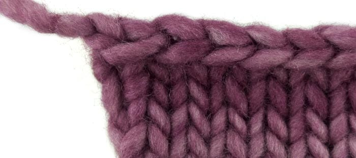 This Bind Off Has A Messy Last Stitch