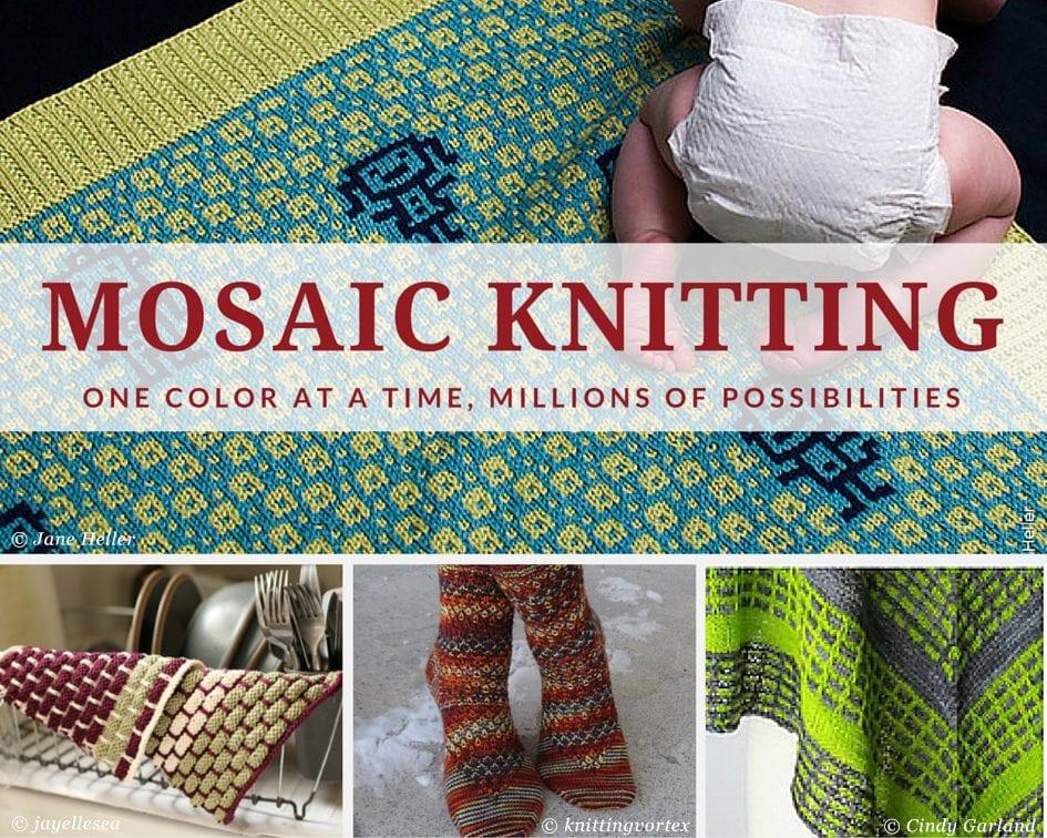 Mosaic Knitting - Patterns to Try