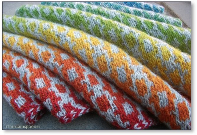 Welsh Blanket Boomerang by Susan Ashcroft