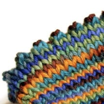 Hemmed Edge Cast-On – Purl or Picot