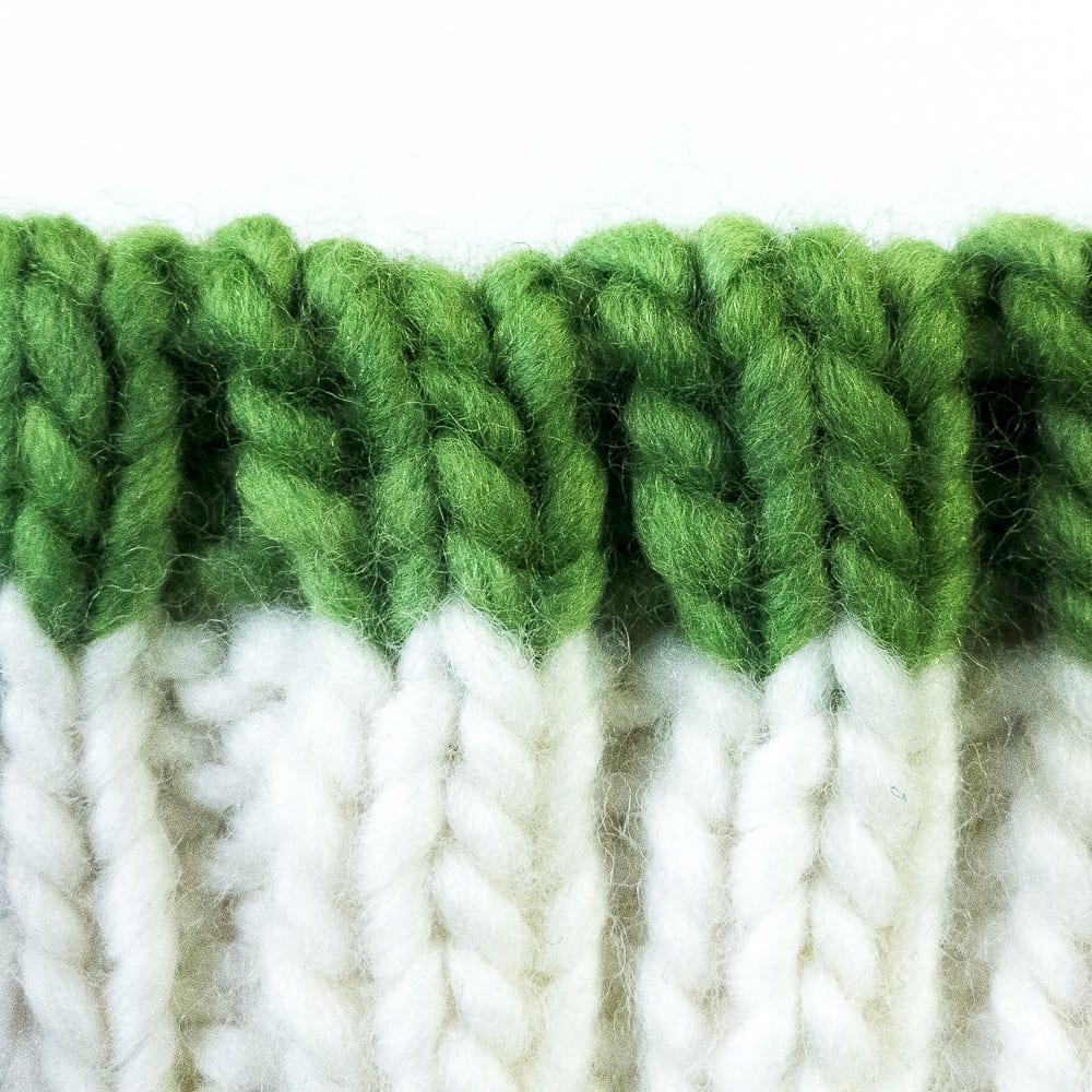 Kitchener Double-Rib Bind-Off