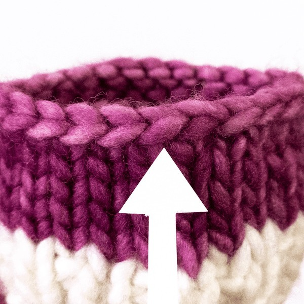 Neaten the Last Stitch of Your Bind-Off (Round Knitting)