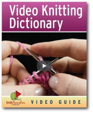 Video Knitting Dictionary ebook Cover