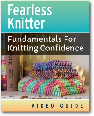 Fearless Knitter Cover