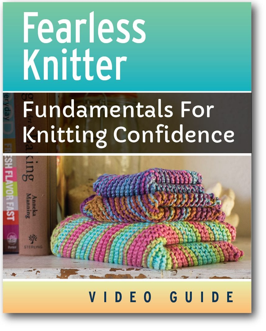 Cover of Fearless Knitter