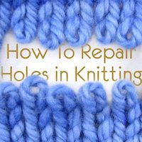 How to Darn Socks and Repair Holes in Knitting
