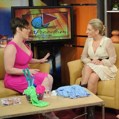 Morning Blend Tuscon TV Appearance – 5 Ways Knitting Can Save Your Life