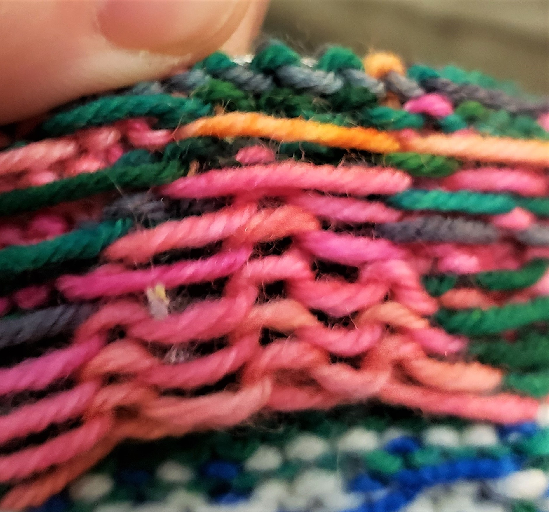 Add Stretch to Stranded Colorwork with Ladderback Jacquard