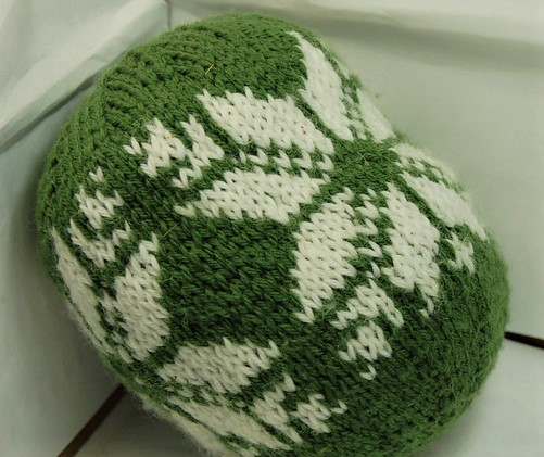 Colorwork Project Disaster a Christmas Ornament
