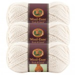 Lion Brand Wool Ease Thick n Quick Yarn Natural square