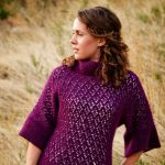 Winter Waterfall Lace Sweater - Field of Gold