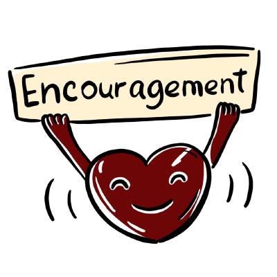 E Encouragement
