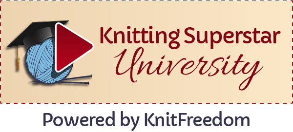 Knitting Superstar University Logo
