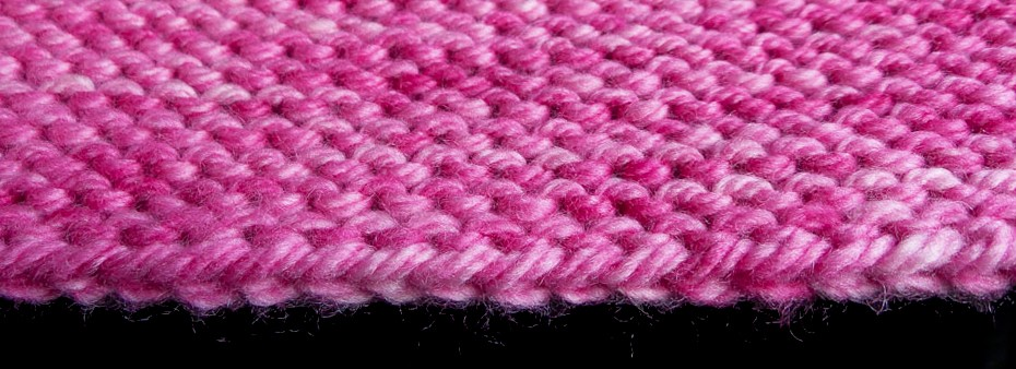 Chinese Waitress Cast on perfect for garter stitch