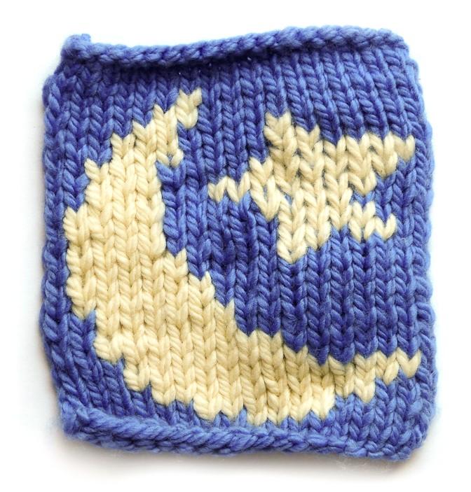 Intarsia and Duplicate Stitch
