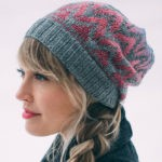 Flicker & Flame Charted Fair-Isle Hat by Andrea Mowry