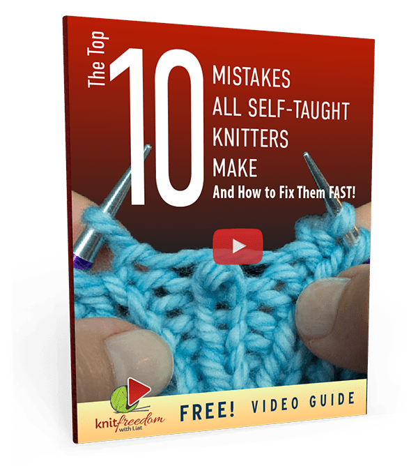 Top Ten 10 Mistakes All Self Taught Knitters Make Book Cover